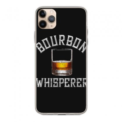 Bourbon Whisperer Funny Whiskey Gift With Sayings Drinking T Shirt Iphone 11 Pro Max Case Designed By Cuser1744
