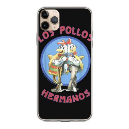 Breaking Bad Los Pollos Hermanos Back To Back Portrait Logo T Shirt Iphone 11 Pro Max Case Designed By Cuser1744