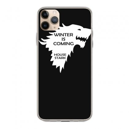 Winter Is Coming   House Stark Iphone 11 Pro Max Case Designed By Nugraha