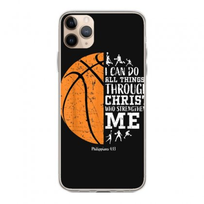 Christian Basketball Shirt I Can Do All Things Philippians T Shirt Iphone 11 Pro Max Case Designed By Cuser1744