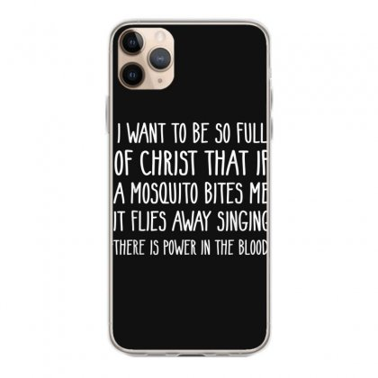 Christian Mosquito Joke Funny Deluxe T Shirt Iphone 11 Pro Max Case Designed By Cuser1744