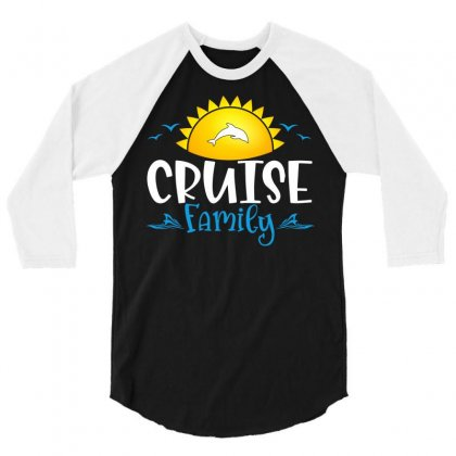 Cruise Family 3/4 Sleeve Shirt Designed By Badaudesign