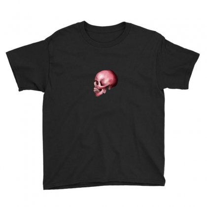 Pink Skull Youth Tee Designed By Preeproject