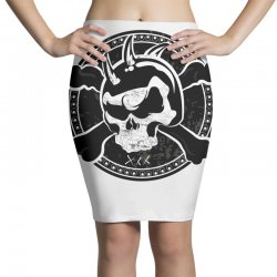 cross skull Pencil Skirts | Artistshot