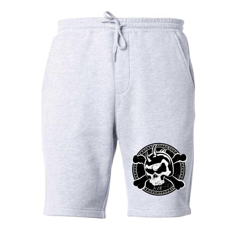 Cross Skull Fleece Short | Artistshot