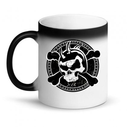 Cross Skull Magic Mug Designed By Designsbymallika