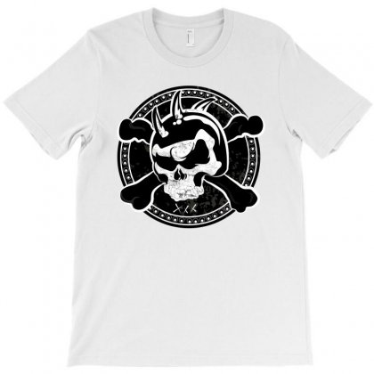 Cross Skull T-shirt Designed By Designsbymallika