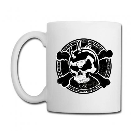 Cross Skull Coffee Mug Designed By Designsbymallika