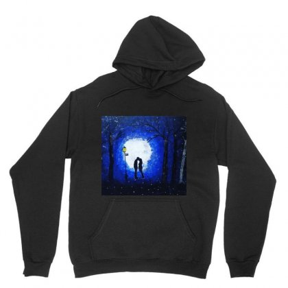 Dreamy Blue Night Couple Unisex Hoodie