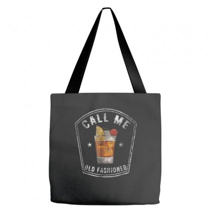 Call Me Old Fashioned Whiskey Bourbon Tote Bags Designed By Kakashop
