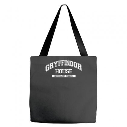 Gryffindor House Harry Potter School Sticker Transfer Iron On Tote Bags Designed By Nugraha