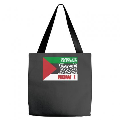 Hands Off Free Palestine Gaza Starlite Mens Novelty Tote Bags Designed By Nugraha