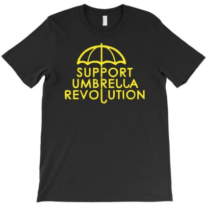 Hong Kong Support The Umbrella Revolution Occupy China 2015 T-shirt Designed By Nugraha