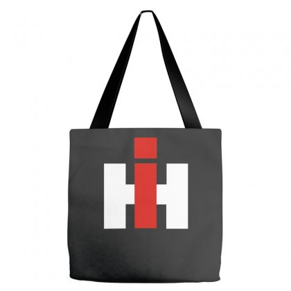 International Harvester Farmall Tractor Tote Bags Designed By Nugraha