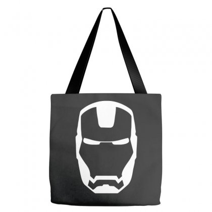 Iron Man Mask Printed Tote Bags Designed By Nugraha
