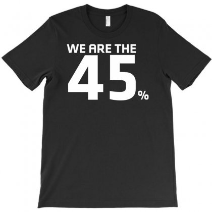 Logo We Are The 45 % Scotland Independence T-shirt Designed By Nugraha