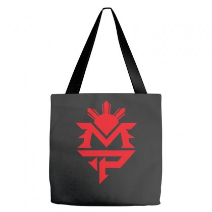 Manny Pacquiao Red Mp Logo Boxer Sports Tote Bags Designed By Nugraha