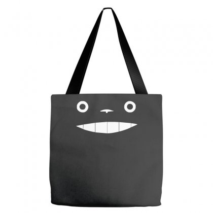 My Neighbour Totoro Face Tote Bags Designed By Nugraha