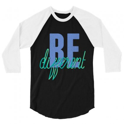 Be Different 3/4 Sleeve Shirt Designed By Perfect Designers
