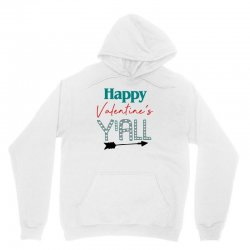 Happy Valentine's Y'all For Light Unisex Hoodie Designed By Sengul