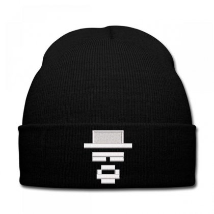 Graphic Knit Cap Designed By Madhatter