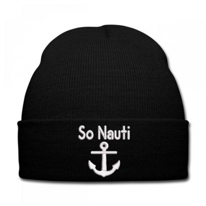 So Nauti Knit Cap Designed By Madhatter