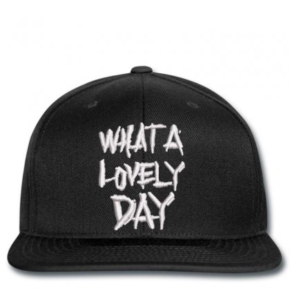 Lovely Day Snapback Designed By Madhatter