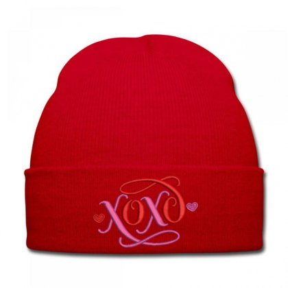 Xoxo Knit Cap Designed By Madhatter
