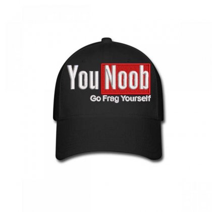 Younoob Baseball Cap Designed By Madhatter