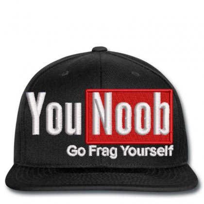 Younoob Snapback Designed By Madhatter