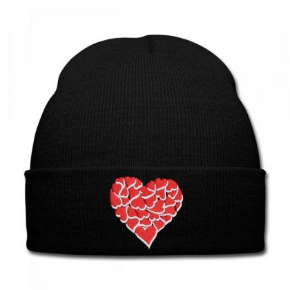 Hearts Knit Cap Designed By Madhatter