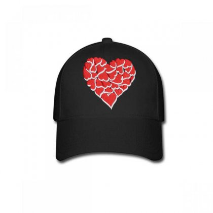 Hearts Baseball Cap Designed By Madhatter