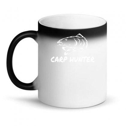 Carp Hunter Pike Angler Fishing New Magic Mug Designed By Ririn