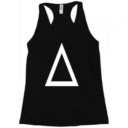 Prism A Triangle Design Graphic Baseball Jersey Racerback Tank Designed By Ririn