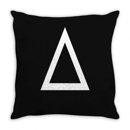 Prism A Triangle Design Graphic Baseball Jersey Throw Pillow Designed By Ririn