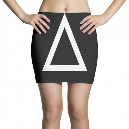 Prism A Triangle Design Graphic Baseball Jersey Mini Skirts Designed By Ririn