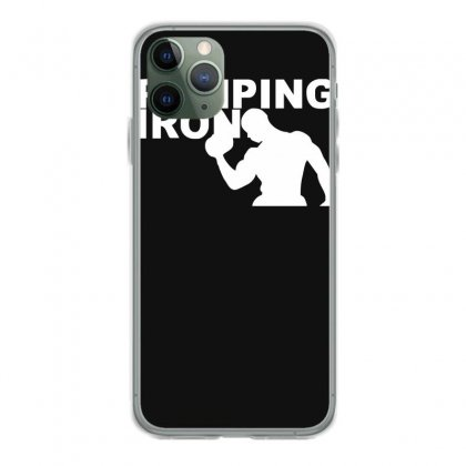 Pump Gym Training Bodybuilding Workout Keepfit Weightlifting Iphone 11 Pro Case Designed By Ririn