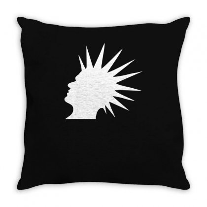 Punk Rock Ska Music Band Clash New Throw Pillow Designed By Ririn