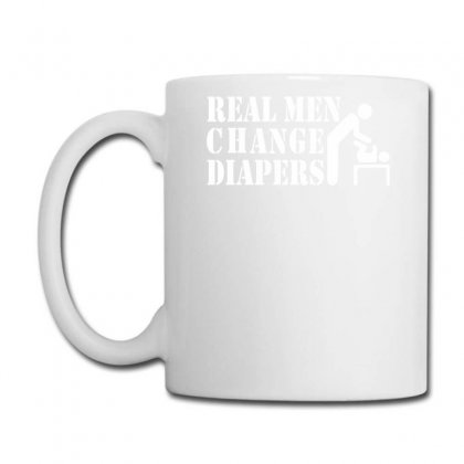 Real Men Change Diapers Coffee Mug Designed By Ririn