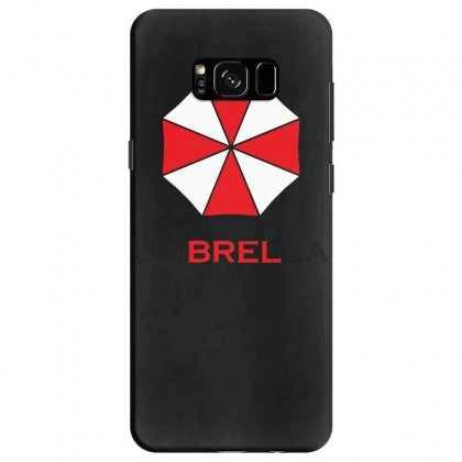 Resident Evil Logo Umbrella Corporation Zombie Videogames Samsung Galaxy S8 Case Designed By Ririn