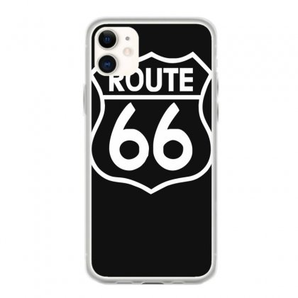 Route 66 Stampa Bianca Starda America Sport Iphone 11 Case Designed By Ririn