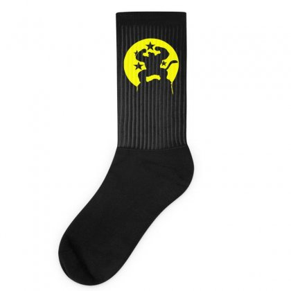 Saiyajin Affe  Dragonball Z Fun Socks Designed By Ririn