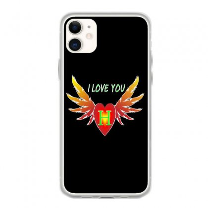H- Valentine Day Iphone 11 Case Designed By Arfa