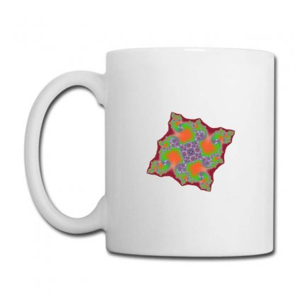 Square Fractal Spiral Coffee Mug Designed By Zykkwolf