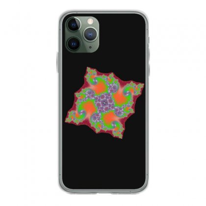 Square Fractal Spiral Iphone 11 Pro Case Designed By Zykkwolf