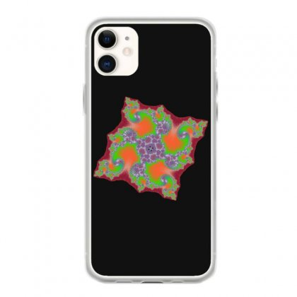 Square Fractal Spiral Iphone 11 Case Designed By Zykkwolf