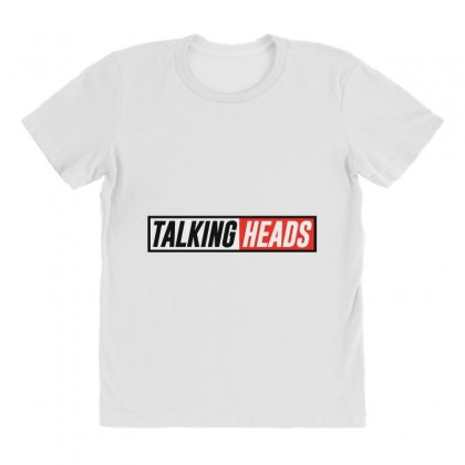 Talking Heads Logo All Over Women's T-shirt Designed By Helloshop