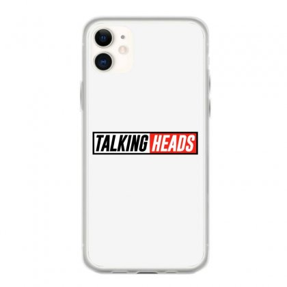 Talking Heads Logo Iphone 11 Case Designed By Helloshop