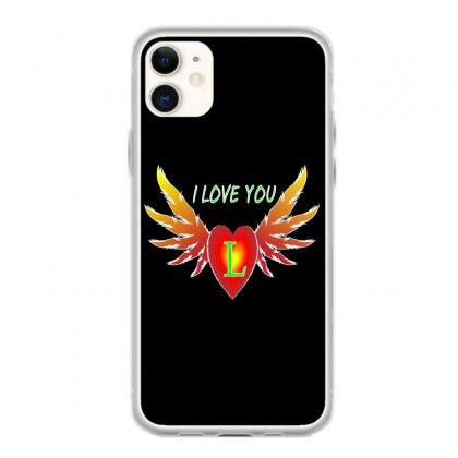 L=valentine Day Iphone 11 Case Designed By Arfa