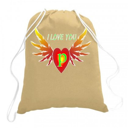 P-valentine Day Drawstring Bags Designed By Arfa